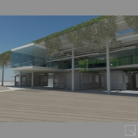 Environmental and urban regeneration of covered Market in Forte dei Marmi