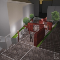 Redevelopment of an area in the historic center of town of San Basile (CS)